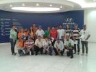 Visita á empresa Hyundai