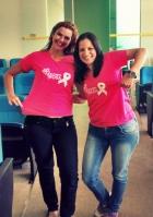 ACIAI Outubro Rosa - colaboradoras da ACIAI apoiando a causa!!!