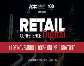 """Notícia: ACIC inicia período de inscrições para o """"Retail Conference"""" 2020; ACIAI apoia a iniciativa"""