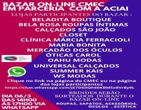 Notícia: Primeiro bazar online CMEC em parceria com a ACIAI