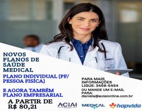Notícia: A ACIAI trás novos planos de saúde Medical, venha conferir.