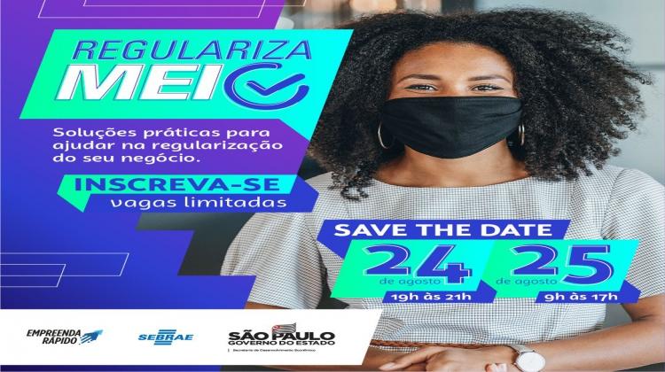 Notícia: Sebrae realiza encontro online para MEIs sobre REGULARIZAÇÃO