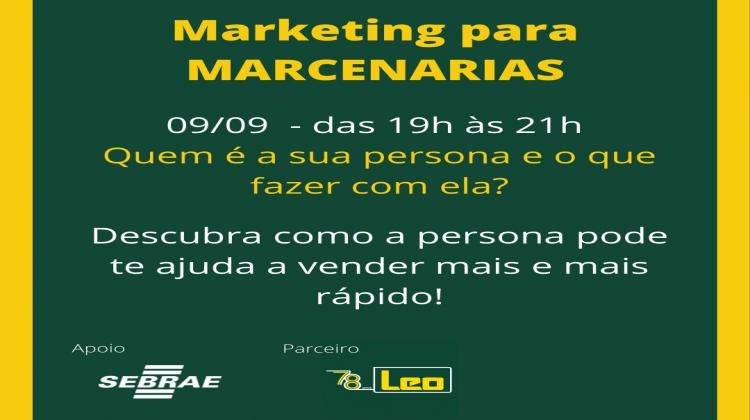 Notícia: Sebrae realiza curso de Marketing para Marcenarias