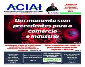 Notícia: Jornal da ACIAI especial orienta associado em tempos de crise