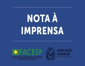 Notícia: Facesp e ACSP pedem volta do comércio em 1º de maio para amenizar prejuízos