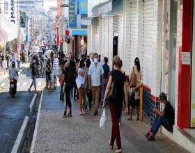 Notícia: Comércio reabre no interior de São Paulo com movimentação intensa
