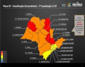 Notícia: Covid-19: após alerta sobre leitos de UTI, região de Piracicaba regride para fase vermelha do Plano SP